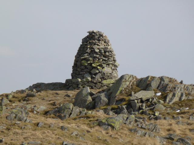 Secondary summit on Black Crag