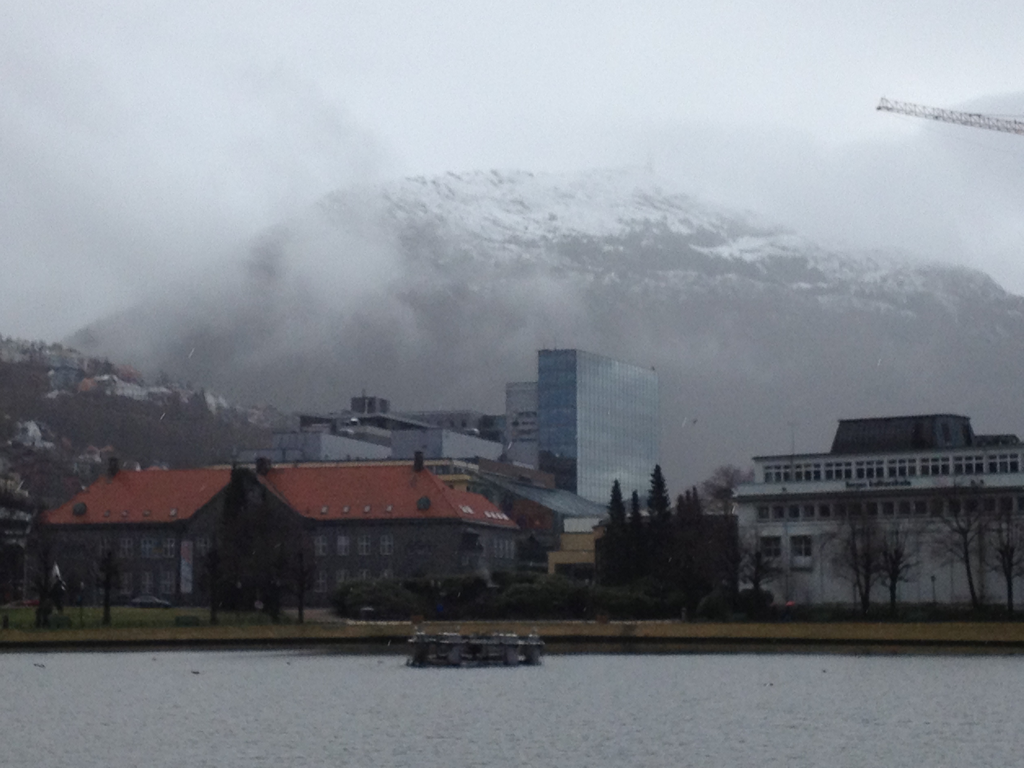 One of the 7 hills above Bergen
