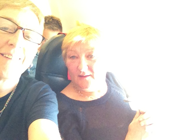 On the plane home, Chris liked this one