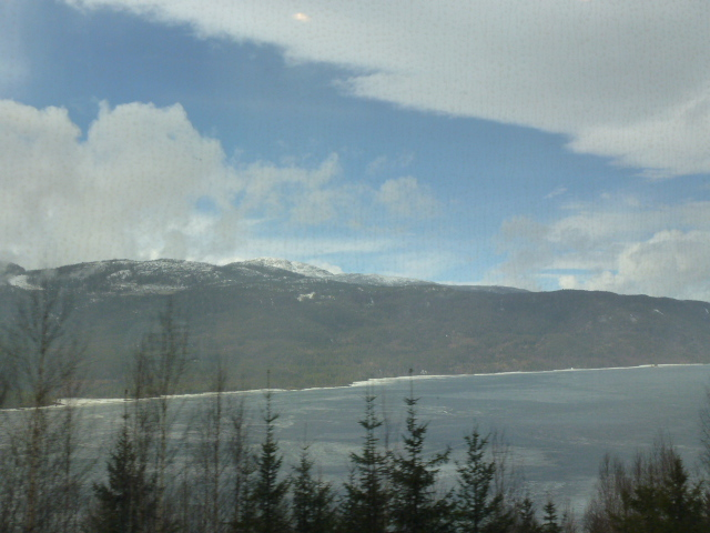 From the train