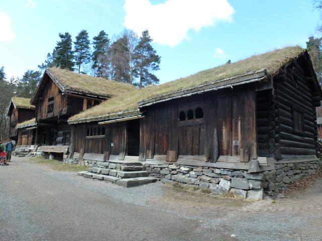 At the Norwegian Folk Museum