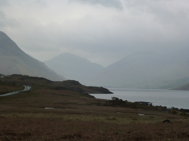 Wasdale in the gloom