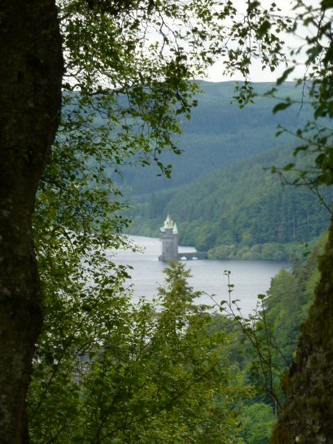 Straining tower at Lake Vyrnwy
