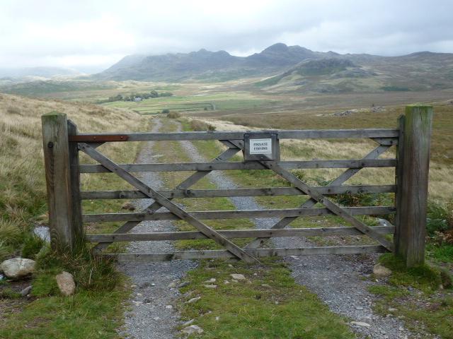 The path from Devoke Water