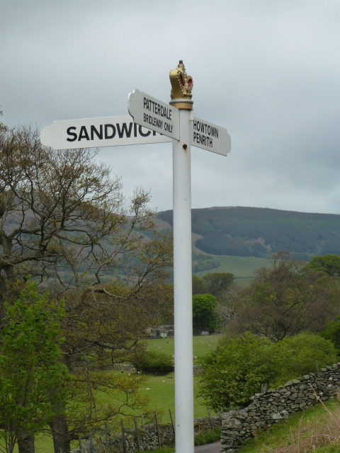 Very superior signpost!