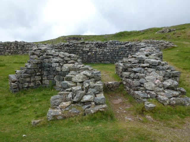 Roman sauna at Hardknott fort