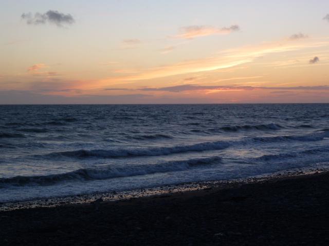 Sunset at Borth