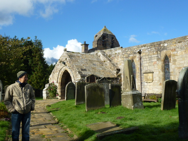 Felton church looks like it hasn't got a roof but it is there really