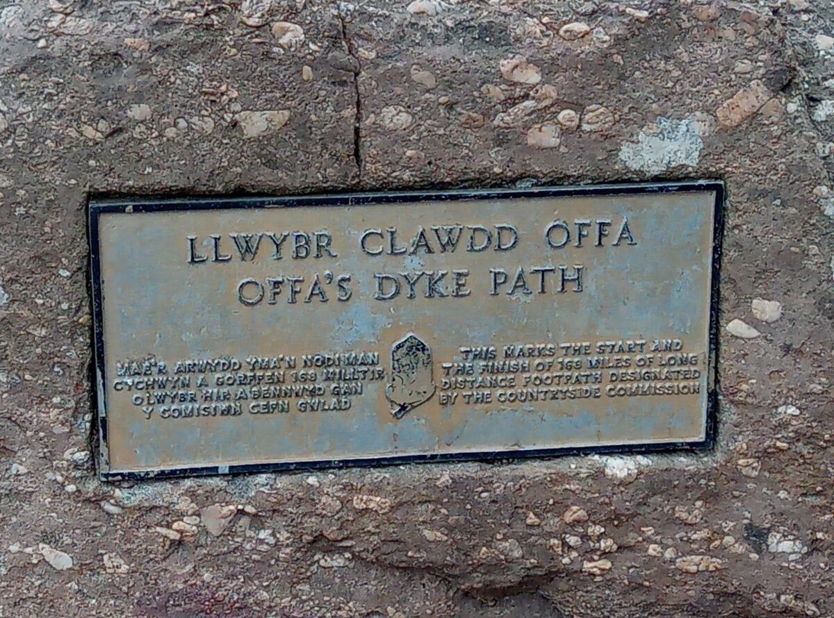 Offa's Dyke Path 1 Sedbury Cliffs to Chepstow